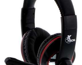 Auricular gamer xtech usb