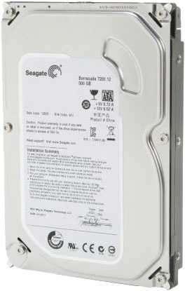 HDD 500 GB Seagate 7200 - 0