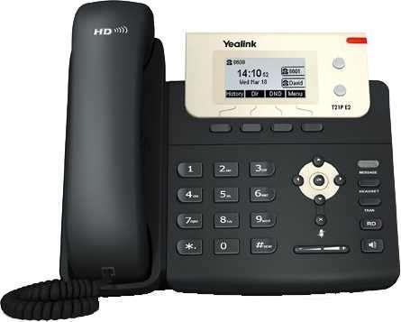 Voip teléfono ip yealink/yeastar sip-t21p e2 - 0
