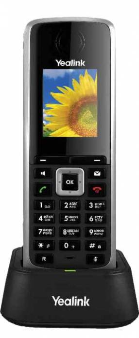 Voip teléfono handset ip yealink/yeastar w52h