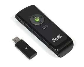 Presentador remoto con puntero láser integrado