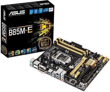 MB ASUS LGA 1150 B85M-E S/V/R/DVI/HDMI - 0
