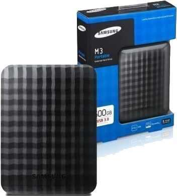 HDD EXT 500 GB Samsung 3.0 USB Negro - 0