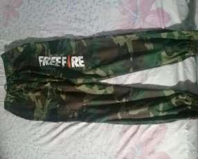 Pantalon free fire