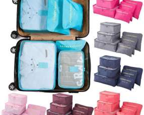 Organizador de 6 piezas para maletas