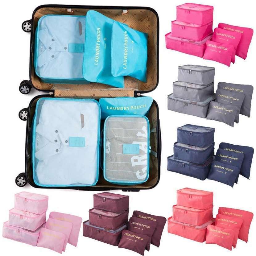 Organizador de 6 piezas para maletas - 0