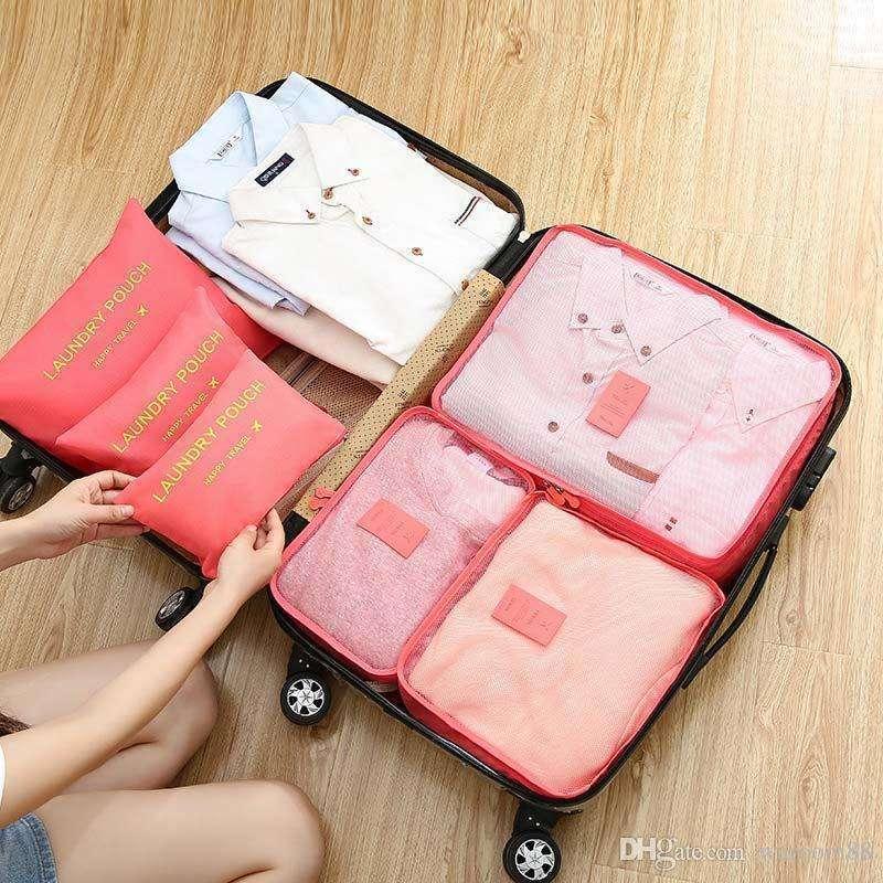 Organizador de 6 piezas para maletas - 1