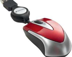 Mouse verb 97255 mini travel rojo
