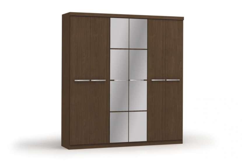 Ropero Jacaranda 6 puertas con espejo - 1