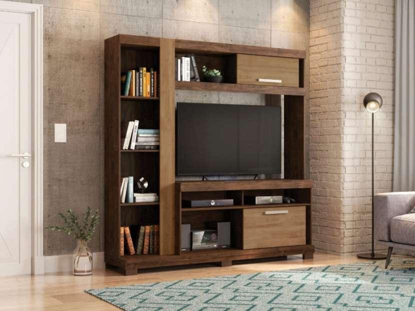 Estante de tv Amazon Havana Buriti - 0
