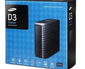 HDD EXT 3.0 TB Samsung 3.0 usb negro