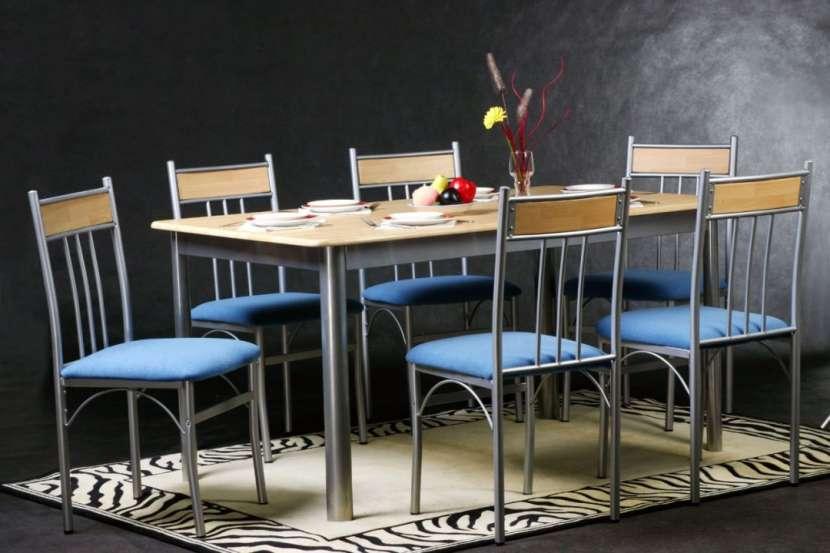 Juego de comedor 6 sillas - 0