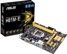 MB ASUS LGA 1150 H81M-E S/V/R/DVI/SATA 6.0