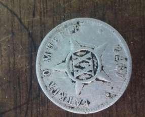 Moneda antigua cubana 1972