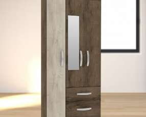 Ropero 3 puertas con espejo