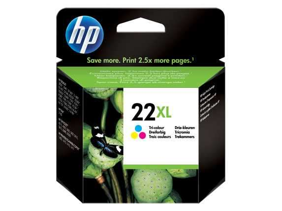 Tinta HP C9352CL A (22XL) COLOR 3920/3920/1410 - 0