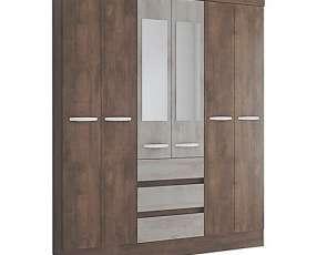 Ropero 6 puertas con espejo Atenas