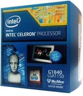 Procesador G1840 2.8/2M/1150 Celeron