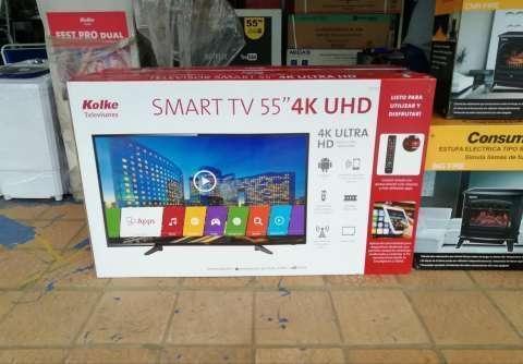 TV LED Smart Kolke 55 pulgadas ultra HD 4K - 0