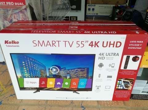 TV LED Smart Kolke 55 pulgadas ultra HD 4K - 1