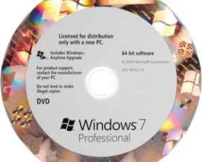 MS OEM Windows 7 pro 64 bits