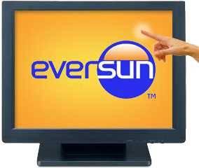 Monitor 15 pulgadas eversun touch fa-15