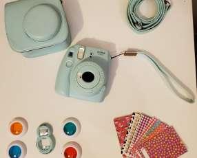 Cámara Fujifilm Instax Mini 9 celeste