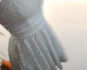 Vestido corto para dama
