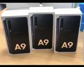 Samsung Galaxy A9 2018 nuevo + protectores ANTISHOK
