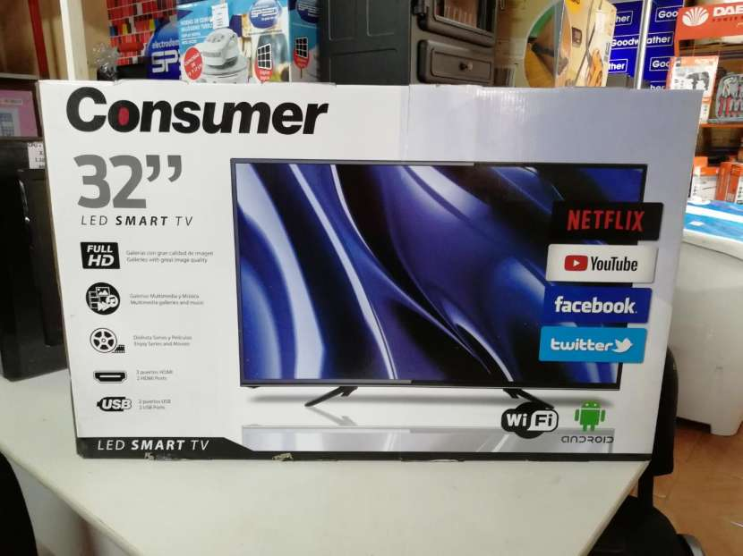 Tv Led Consumer 32 pulgadas smart HD - 0