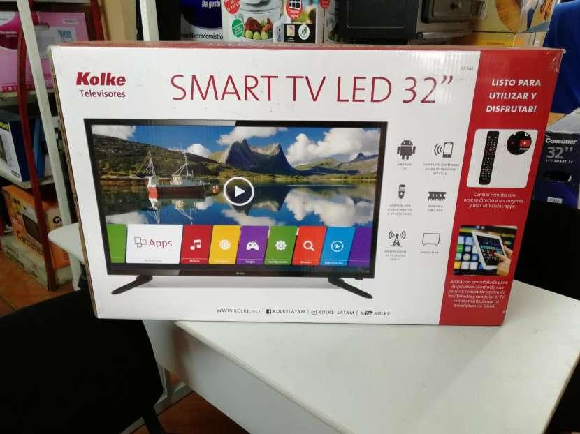 Tv Led smart 32 pulgadas kolke HD - 0