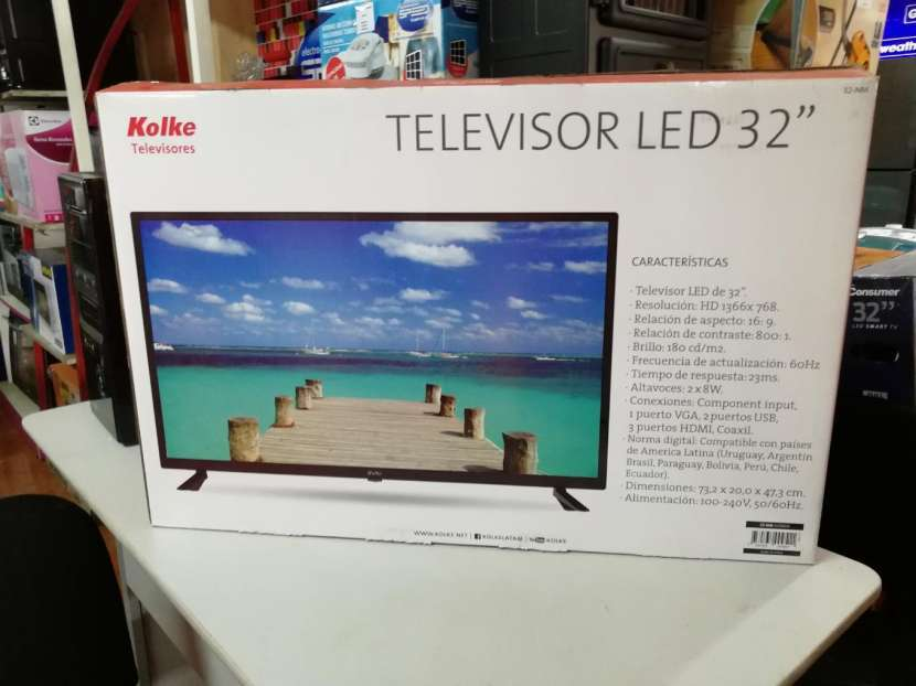 Tv Led 32 pulgadas kolke HD - 0