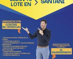 Terreno en Santani
