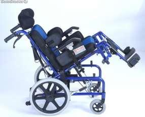 Silla de ruedas pediátrica postural