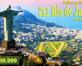 Tour aéreo a Rio de Janeiro Enero 2020 desde Foz de Iguazú