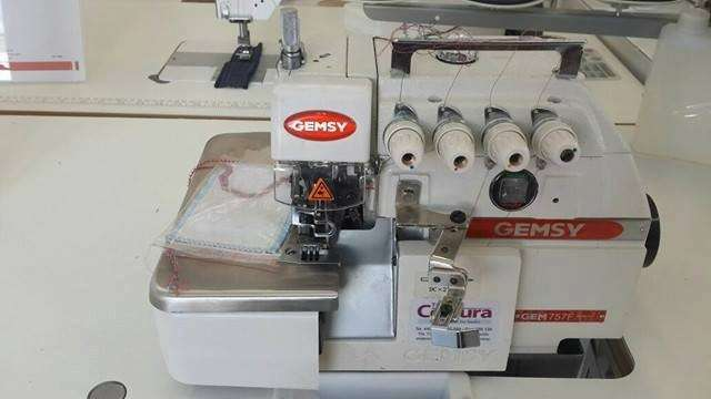 Máquinas de costura familiares e industriales - 5