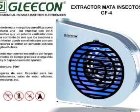 Mata insectos insectocutor extractor gleecon