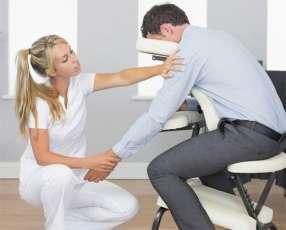 Silla shiatsu para masaje fisioterapia y tatuaje