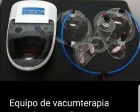 Equipo de Vacumterapia con 5 campanas