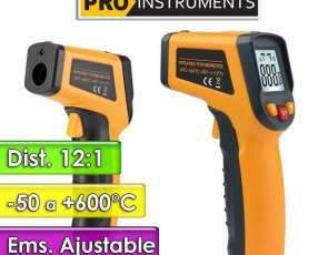 Termómetro Infrarrojo -50 a +600°C