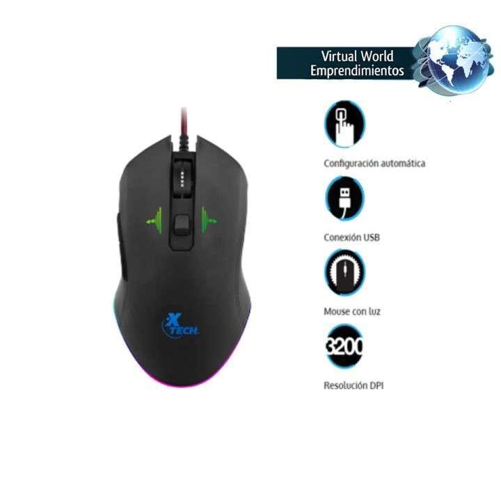 Mouse Gamer XTECH XTM-710 3200 DPI - 2