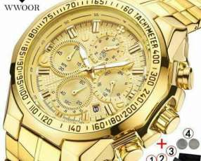 Reloj Goldwoor Importado de lujo