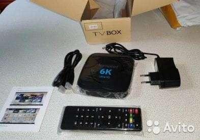 Tv Box Android 9.0 4 gb ram 32 gb almacenamiento - 1