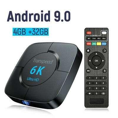Tv Box Android 9.0 4 gb ram 32 gb almacenamiento - 0