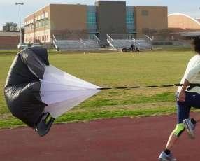 Paracaídas de entrenamiento