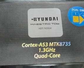 Tablet Hyundai de 7 pulgadas chip y wifi