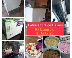 Kit de fabricación de helados