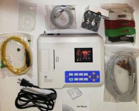 Electrocardiógrafo 3 canales 12 derivaciones Contec
