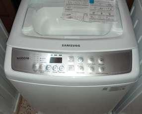Lavarropa automática Samsung 8 kg carga superior