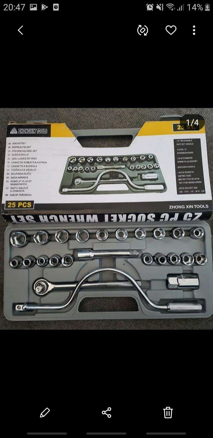 Caja de herramientas 25 piezas - 0